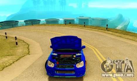 Subaru Impreza WRX STI Spec-C para visión interna GTA San Andreas