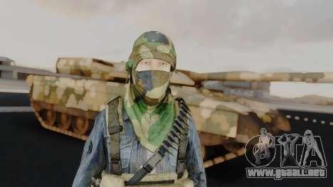 Somalia Militia Woodland Camo para GTA San Andreas