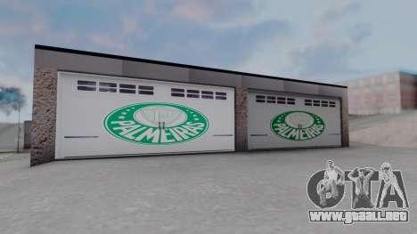 New Garage in San Fierro para GTA San Andreas sucesivamente de pantalla