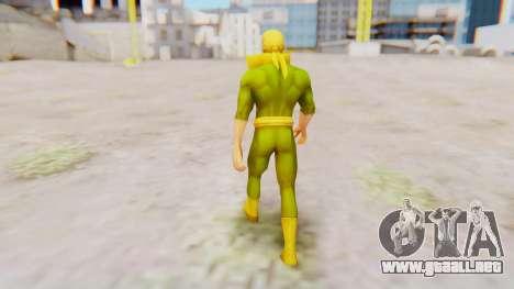 Marvel Future Fight - Iron Fist para GTA San Andreas tercera pantalla