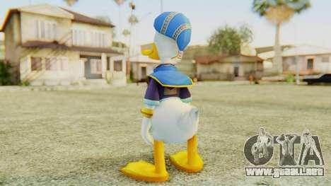 Kingdom Hearts 2 Donald Duck Default v1 para GTA San Andreas tercera pantalla