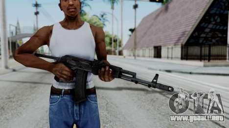 AKS-47 para GTA San Andreas tercera pantalla