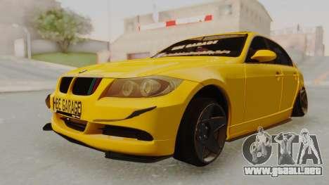 BMW M3 E90 para la visión correcta GTA San Andreas