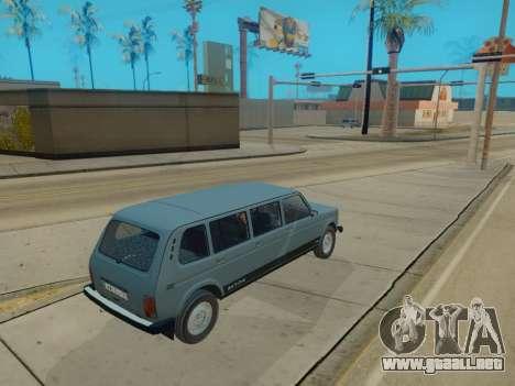 ВАЗ 2131 7-puerta [HQ Version] para GTA San Andreas vista hacia atrás