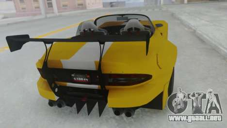 GTA 5 Bravado Banshee 900R Tuned para GTA San Andreas left