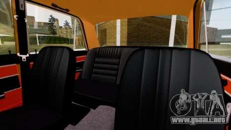 VAZ 2103 para vista lateral GTA San Andreas