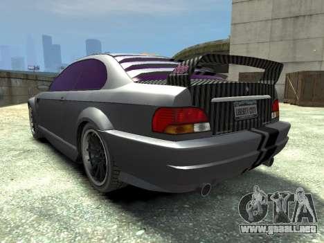 Sentinel CARBON v1.0 para GTA 4 Vista posterior izquierda