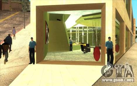 La reactivación de la concesionaria de automóvil para GTA San Andreas segunda pantalla