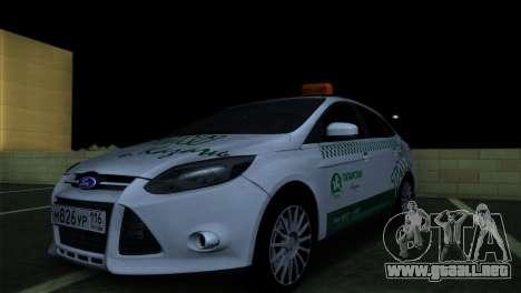 Ford Focus Taxi Tatarstán para GTA San Andreas
