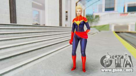 Marvel Future Fight - Captain Marvel para GTA San Andreas segunda pantalla