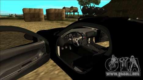 Mazda RX-7 Rusty Rebel para vista inferior GTA San Andreas