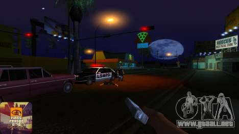 La primera persona a la v3.0 para GTA San Andreas séptima pantalla