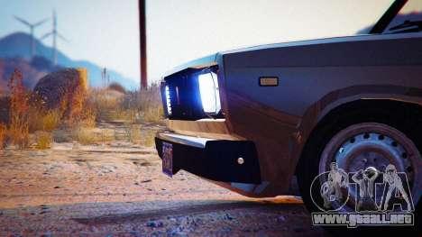 GTA 5 VAZ 2104 vista lateral izquierda trasera