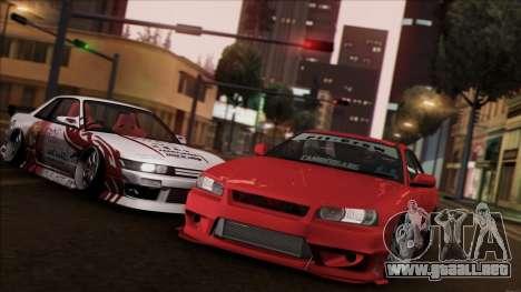 Nissan Skyline ER-34 para GTA San Andreas left
