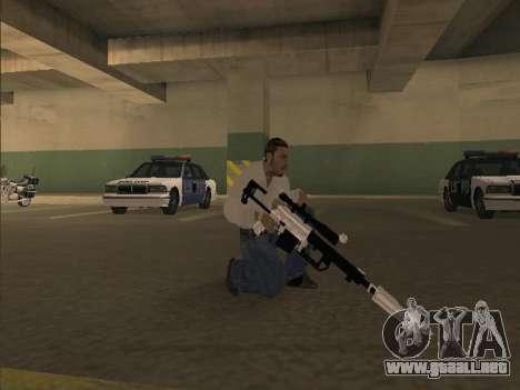 Silent Aim v6.0 para GTA San Andreas segunda pantalla