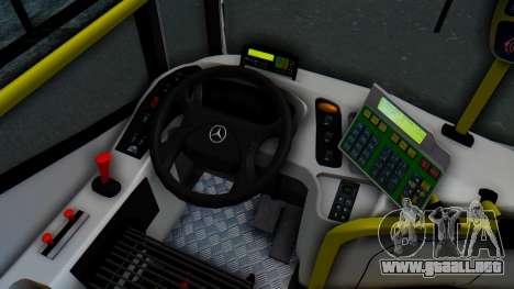 Mercedes-Benz 1718L-SB Linea 148 para visión interna GTA San Andreas