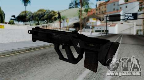 CoD Black Ops 2 - SMR para GTA San Andreas segunda pantalla