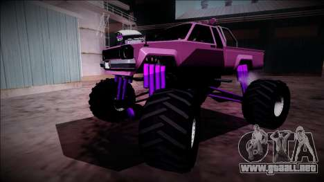 GTA 5 Karin Rebel Monster Truck para vista inferior GTA San Andreas