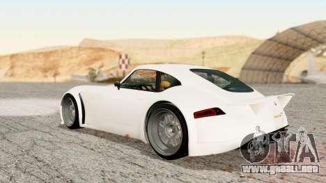 GTA 5 Bravado Verlierer Stock para GTA San Andreas left