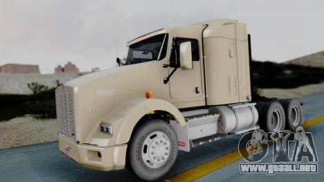 Kenworth T800 38s Flat Top para GTA San Andreas