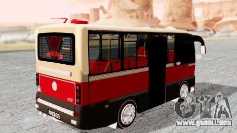 Otokar Magirus M2000 26M0009 para GTA San Andreas left