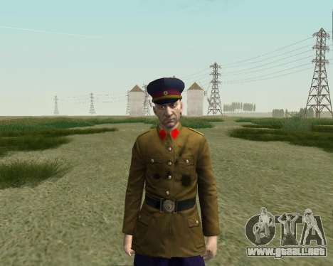 La colección de Soldados del ejército rojo para GTA San Andreas octavo de pantalla