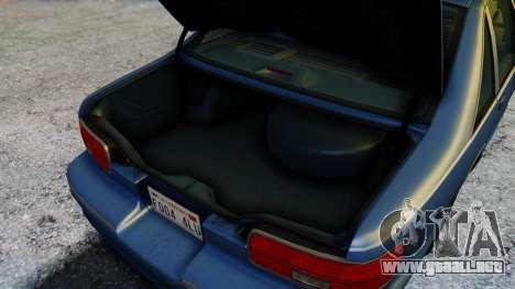 Chevrolet Caprice 1993 para la vista superior GTA San Andreas