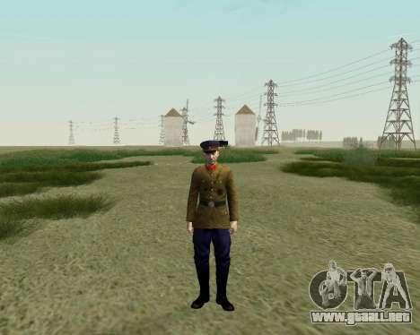 La colección de Soldados del ejército rojo para GTA San Andreas novena de pantalla