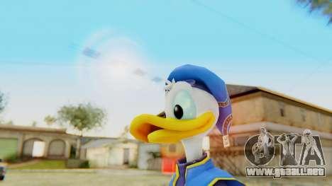Kingdom Hearts 2 Donald Duck Default v1 para GTA San Andreas