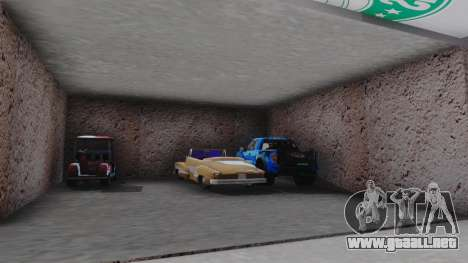 New Garage in San Fierro para GTA San Andreas quinta pantalla