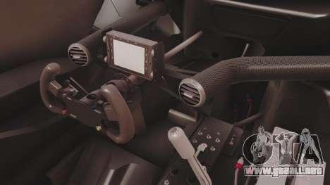Audi A4 2008 DTM para visión interna GTA San Andreas