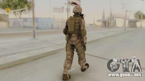 US Army Urban Soldier Gas Mask from Alpha Protoc para GTA San Andreas tercera pantalla