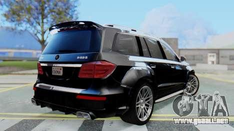 Brabus B63S para GTA San Andreas left