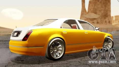 GTA 5 Enus Cognoscenti 55 para GTA San Andreas left