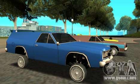 Picador Vagon Extreme para GTA San Andreas