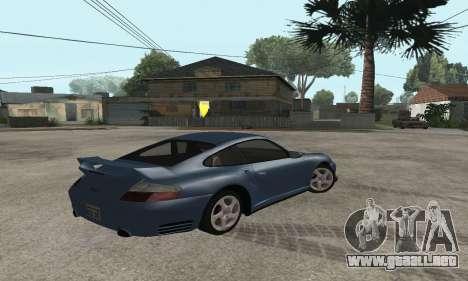 Porsche 911 GT2 para GTA San Andreas left