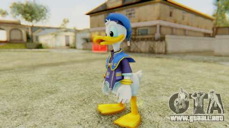 Kingdom Hearts 2 Donald Duck Default v1 para GTA San Andreas segunda pantalla