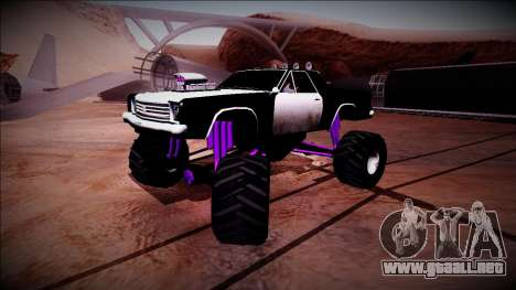 Picador Monster Truck para vista inferior GTA San Andreas