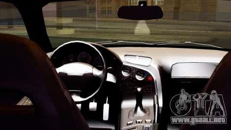 Mazda RX-7 Itasha para la visión correcta GTA San Andreas