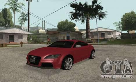 Audi TT-RS Tunable para GTA San Andreas
