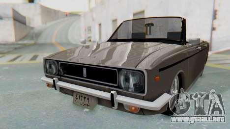 Peykan 80 Spyder para la visión correcta GTA San Andreas
