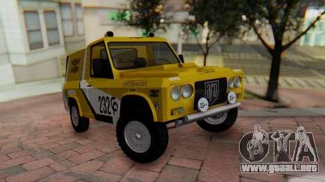 Aro 242 - Dakar 1985 para GTA San Andreas