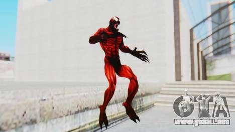 The Amazing Spider-Man 2 Game - Carnage para GTA San Andreas segunda pantalla