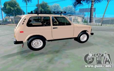 VAZ Niva para la visión correcta GTA San Andreas