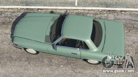 GTA 5 Mercedes-Benz 350 SL (R107) vista trasera