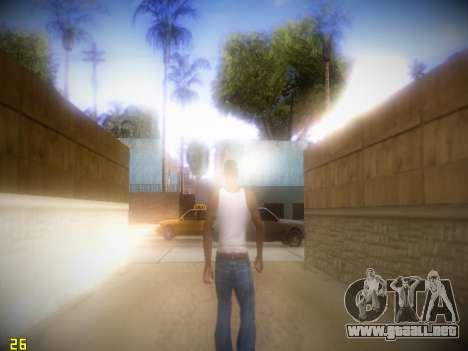 Siguiente ENB V1.4 para PC de bajo para GTA San Andreas