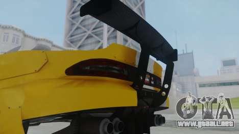 GTA 5 Bravado Banshee 900R Tuned para GTA San Andreas vista posterior izquierda