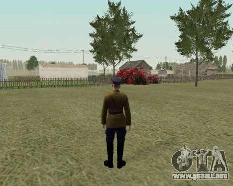 La colección de Soldados del ejército rojo para GTA San Andreas décimo de pantalla