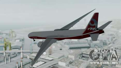 Boeing 777-9x House para GTA San Andreas left