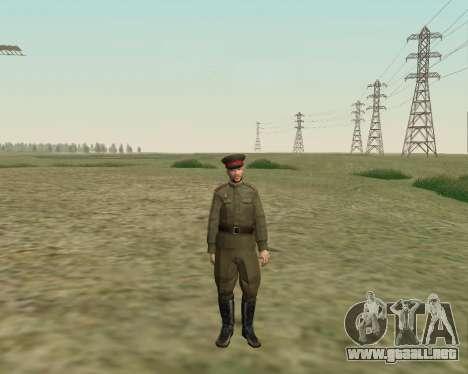 La colección de Soldados del ejército rojo para GTA San Andreas quinta pantalla
